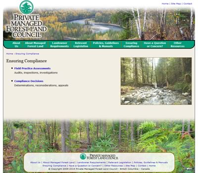 Private Managed Forest Land Council
